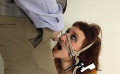 To much of rope and hungry BDSM submissive sex