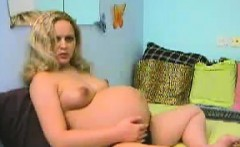 Pregnant Blonde Chick