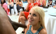 Beauties love the smack of whipped cream covered cock