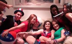 4th of July party with hot sluts