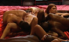 Young swinger couple try out swinging with other couples