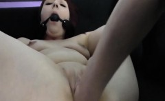 Naughty redhead has her horny pussy fisted