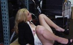 European prostitute Hot Milf Banged At The PawnSHop