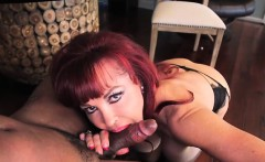 Sexy Vanessa Rides The Black Cock of Asante Stone