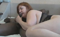 Black Guy Fucks White Milf And Cums In Her Mouth