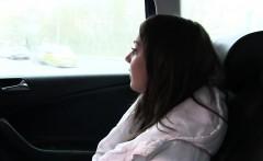 Russian teen bang Czech fake taxi driver