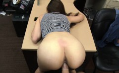 Cock hungry brunette Naomi Alice gets her pussy fucked
