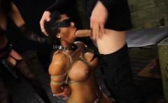 Busty milf Alexa Pierce tied up and disgraced like a slut