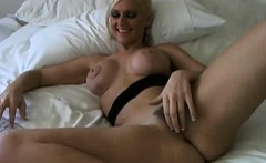 Hot Blonde Porn Star On Webcam