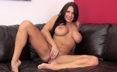 Bodacious And Lustful Brunette Lylith Lavey Takes Herself To Pleasure
