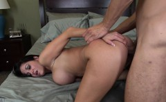Wild milf with big hooters Ava Addams feeds her hunger for young meat