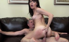Brunette Dana DeArmond gives great head and rides like a cowgirl