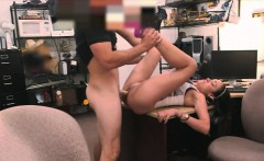 Big boobies amateur latin chick gets fucked by pawn guy