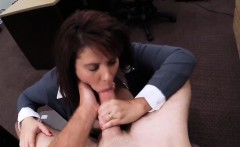 Busty MILF pawns her pussy and banged at the pawnshop