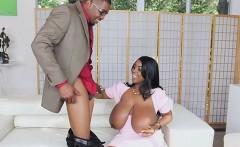 Busty Secretary Maserati Blows Her Hung Boss
