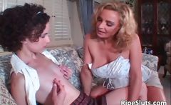 curly slut having lesbian sex