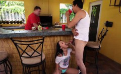 holy fuck! holly hendrix sucks her dads friends cock!