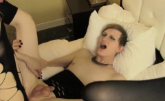 Shemales bareback in the bedroom