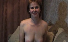 Milf matures at fingering and home stripteasing her