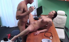 Nurse caught guy wanking at her desk
