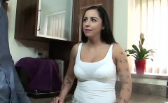 Slutty chick with tattoos gets fucked and a facial