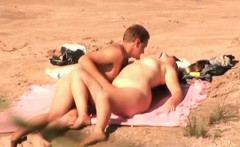 Witnessing some passionate lovemaking on the beach