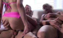 ReifeSwinger - FFM threesome with naughty German matures