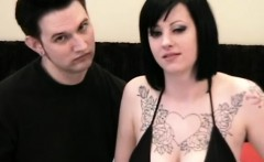 Trish and Chris are a tattooed couple who love to get dirty