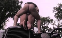 Blonde Victoria adores hot sex outdoors