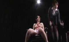 Mistress invites her friend over and turns her into a tied