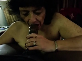 Penis – A Bbc Being Blown By Crazy Granny