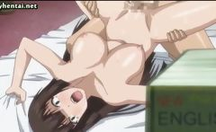 Naughty hentai babe gets pounded