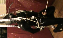 Moving and swing - rubberslave that is stopped