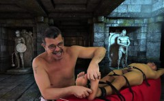 Asian Boy Nathan Tied and Tickled