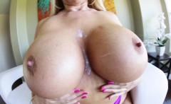 Blonde milfs tits creamed