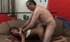 Miniature babe is getting doggystyle sex from teacher