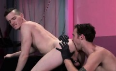 Er boy sex gay Axel Abysse crouches on a going knuckle deep