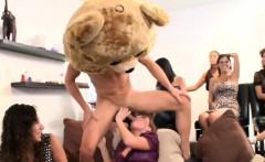 Lusty stripper is making the slutty babes wild