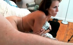 Mature brunette wife fucking in both holes