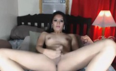 Hot Slut asian Shemale Loves to Jerks Off