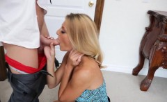 blonde milf doggy brenda james