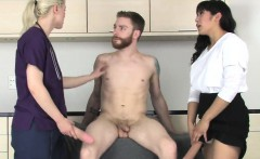 Sweeties nail fellas ass hole with massive strapons and spla