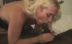 my wife eats cum from big black cock