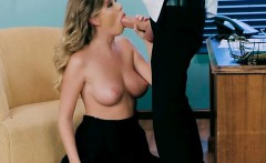 Busty Sous Chef Alexis Adams Blows Hung Chef