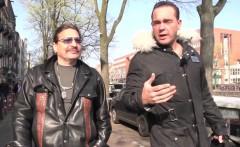 Amsterdam hooker deepthroats customer