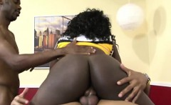 kinky gangbang session with an ebony minx
