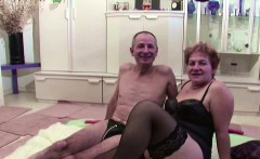 german granny and grandpa in real porn casting for cash
