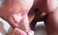 excellent milf blowjob