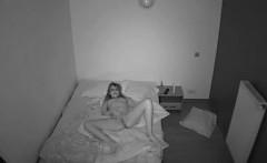 woman masturbating on camera that is hidden