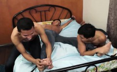 Asian Boy Marco Tickled And Stroking